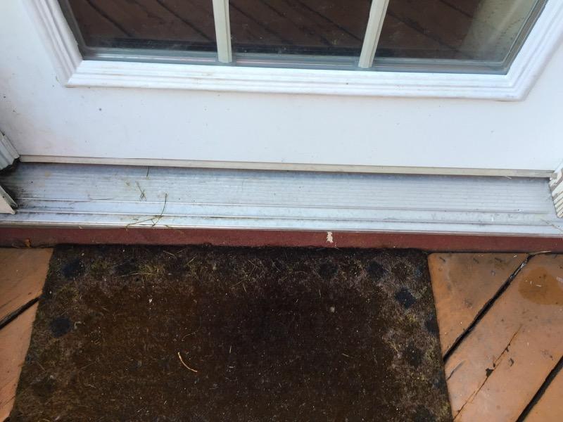 Leak Front Door